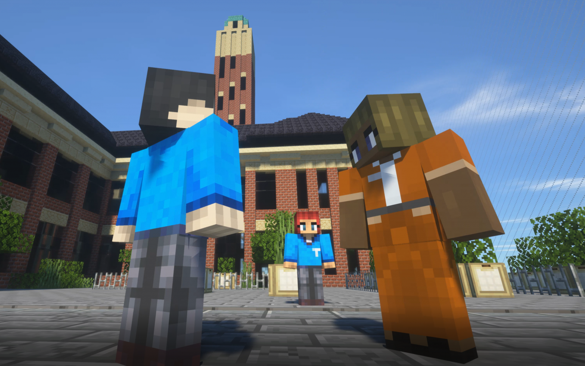 minecraft tour tu delft