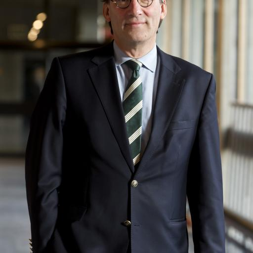 Photo of Huib Pols, Rector Magnificus EUR