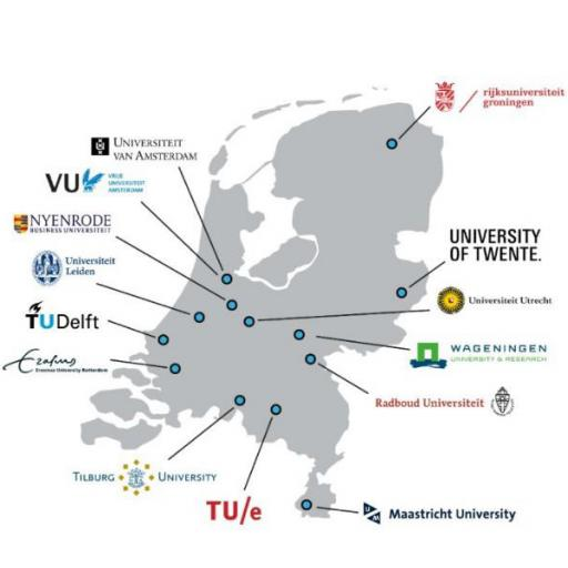 map education initiatives in the Netherlands